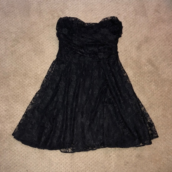 Express Dresses & Skirts - Black Lace Express Dress (Small)